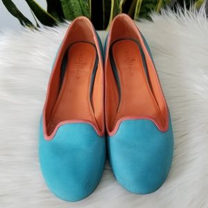 Cole Haan Nike Air Morgan Ballet shoes teal Sz7.5